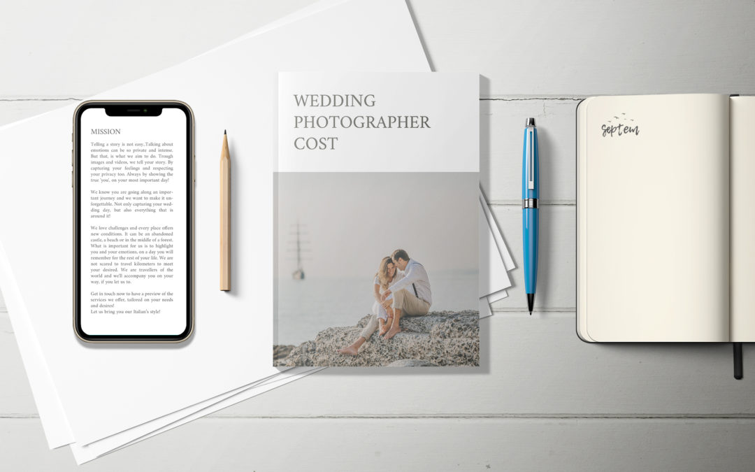 Wedding photographer cost: useful information for you